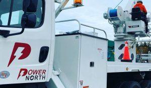 PowerNorth truck Closeup